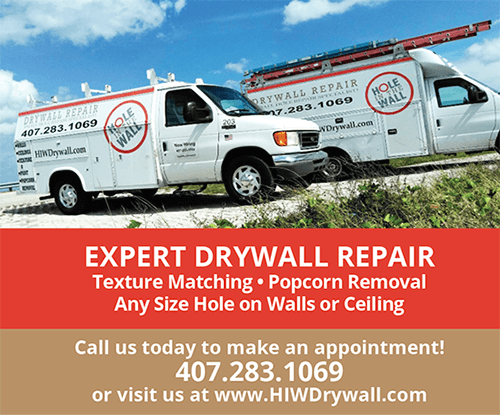 Click to select Hole in the Wall Drywall Repair